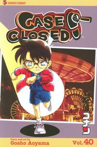 Cover Thumbnail for Case Closed (Viz, 2004 series) #40