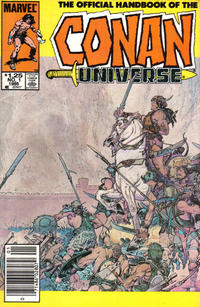 Cover Thumbnail for The Handbook of the Conan Universe (Marvel, 1986 series) #1 [Newsstand]