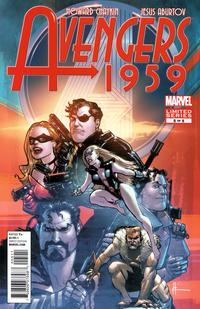 Cover for Avengers 1959 (Marvel, 2011 series) #5