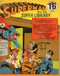 Cover Thumbnail for Superman Super Library (K. G. Murray, 1964 series) #33