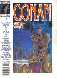 Cover Thumbnail for Conan Saga (Marvel, 1987 series) #7 [Newsstand]