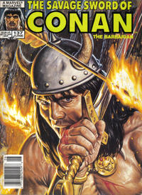 Cover Thumbnail for The Savage Sword of Conan (Marvel, 1974 series) #137 [Newsstand Edition]