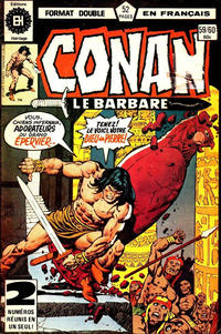 Cover Thumbnail for Conan le Barbare (Editions Héritage, 1972 series) #59/60