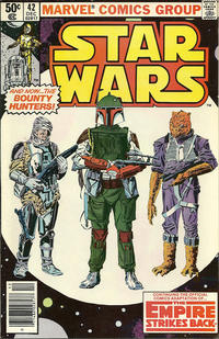 Cover Thumbnail for Star Wars (Marvel, 1977 series) #42 [Newsstand]