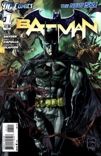 Cover Thumbnail for Batman (DC, 2011 series) #1 [Ethan Van Sciver Cover]