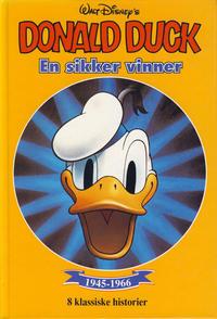 Cover Thumbnail for Donald Duck bøker [Gullbøker] (Hjemmet / Egmont, 1984 series) #[1992] - En sikker vinner
