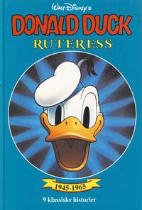 Cover Thumbnail for Donald Duck bøker [Gullbøker] (Hjemmet / Egmont, 1984 series) #[1994] - Ruteress
