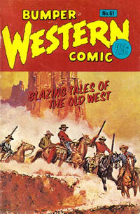 Cover Thumbnail for Bumper Western Comic (K. G. Murray, 1959 series) #61