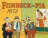 Cover Thumbnail for Fiinbeck og Fia (Hjemmet / Egmont, 1930 series) #1952