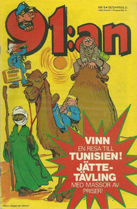 Cover Thumbnail for 91:an (Semic, 1965 ? series) #6/1973