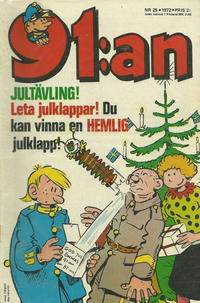 Cover Thumbnail for 91:an (Semic, 1965 ? series) #25/1972