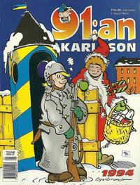 Cover Thumbnail for 91:an Karlsson [julalbum] (Semic, 1981 series) #1994