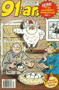 Cover Thumbnail for 91:an (Egmont, 1997 series) #7/2004