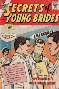 Cover Thumbnail for Secrets of Young Brides (Charlton, 1957 series) #33