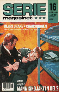 Cover Thumbnail for Seriemagasinet (Semic, 1970 series) #16/1987