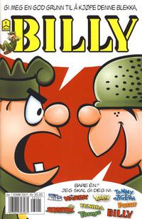 Cover Thumbnail for Billy (Hjemmet / Egmont, 1998 series) #1/2012