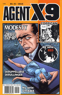 Cover Thumbnail for Agent X9 (Hjemmet / Egmont, 1998 series) #1/2012