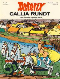 Cover Thumbnail for Asterix (Hjemmet / Egmont, 1969 series) #12 - Gallia rundt [1. opplag]