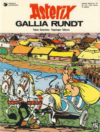 Cover Thumbnail for Asterix (Hjemmet / Egmont, 1969 series) #12 - Gallia rundt [3. opplag]