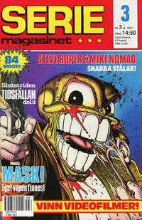 Cover Thumbnail for Seriemagasinet (Semic, 1970 series) #3/1991