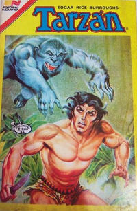 Cover Thumbnail for Tarzan Serie Avestruz (Editorial Novaro, 1975 series) #166
