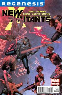 Cover Thumbnail for New Mutants (Marvel, 2009 series) #36