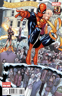Cover Thumbnail for Avenging Spider-Man (Marvel, 2012 series) #3 [Variant Edition - Spider-Man: 50 Years - Humberto Ramos Cover]