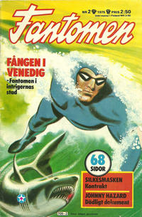 Cover Thumbnail for Fantomen (Semic, 1963 series) #2/1975