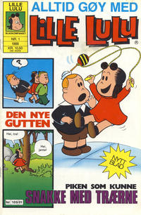 Cover Thumbnail for Lille Lulu (Bladkompaniet / Schibsted, 1988 series) #1/1988
