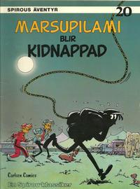 Cover Thumbnail for Spirous äventyr (Carlsen/if [SE], 1974 series) #20 - Marsupilami blir kidnappad