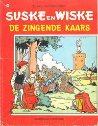 Cover Thumbnail for Suske en Wiske (Standaard Uitgeverij, 1967 series) #167 - De zingende kaars