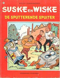 Cover Thumbnail for Suske en Wiske (Standaard Uitgeverij, 1967 series) #165 - De sputterende spuiter [Eerste druk]