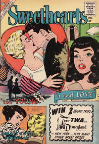 Cover Thumbnail for Sweethearts (Charlton, 1954 series) #53