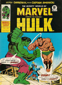 Cover Thumbnail for The Mighty World of Marvel (Marvel UK, 1972 series) #148