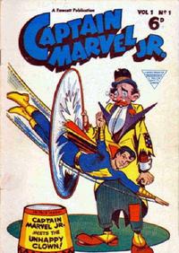 Cover Thumbnail for Captain Marvel Jr. (L. Miller & Son, 1953 series) #1