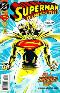 Cover Thumbnail for Superman: The Man of Steel (DC, 1991 series) #28 [Direct Sales]