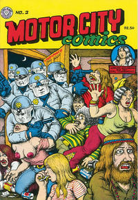 Cover Thumbnail for Motor City Comics (Last Gasp, 1991 series) #2