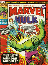 Cover Thumbnail for The Mighty World of Marvel (Marvel UK, 1972 series) #80