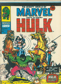 Cover Thumbnail for The Mighty World of Marvel (Marvel UK, 1972 series) #117