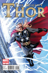 Cover Thumbnail for The Mighty Thor (Marvel, 2011 series) #5 [Greg Land Variant Cover]