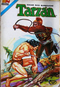 Cover Thumbnail for Tarzan Serie Avestruz (Editorial Novaro, 1975 series) #155
