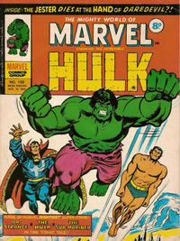 Cover Thumbnail for The Mighty World of Marvel (Marvel UK, 1972 series) #150