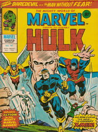 Cover Thumbnail for The Mighty World of Marvel (Marvel UK, 1972 series) #187