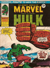 Cover Thumbnail for The Mighty World of Marvel (Marvel UK, 1972 series) #119