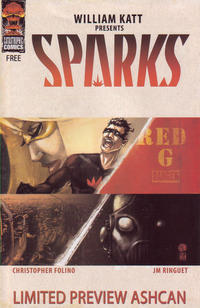 Cover Thumbnail for Sparks Limited Preview Ashcan (Arcana, 2008 series)