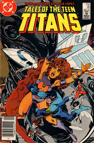 Cover for Tales of the Teen Titans (DC, 1984 series) #81 [Direct Sales]