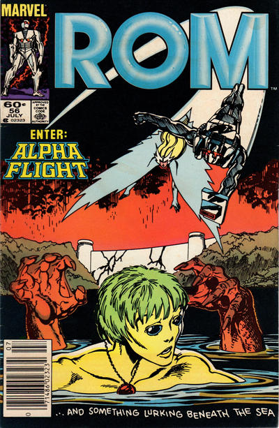 Cover for ROM (Marvel, 1979 series) #56 [Newsstand Edition]
