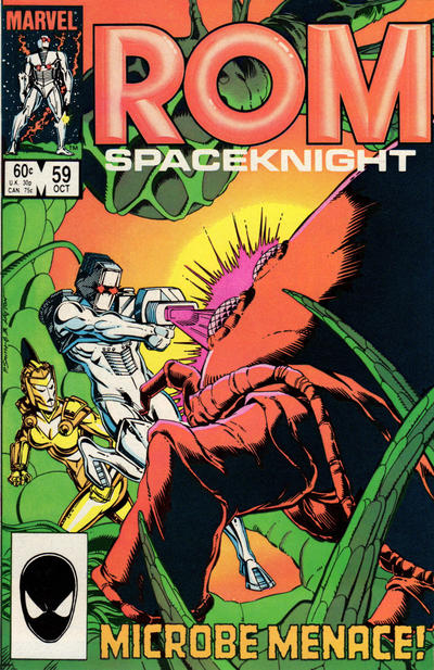 Cover for ROM (Marvel, 1979 series) #59 [Direct Edition]
