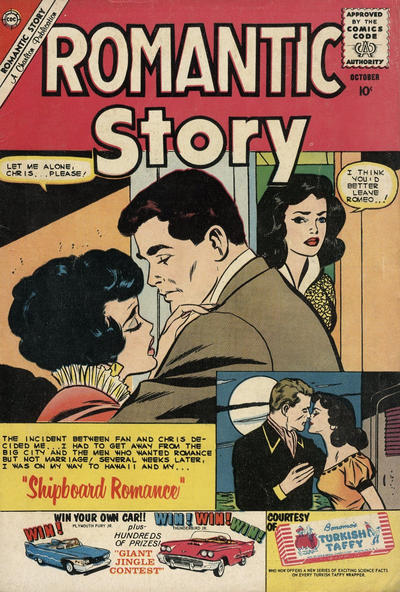 Cover for Romantic Story (Charlton, 1954 series) #51