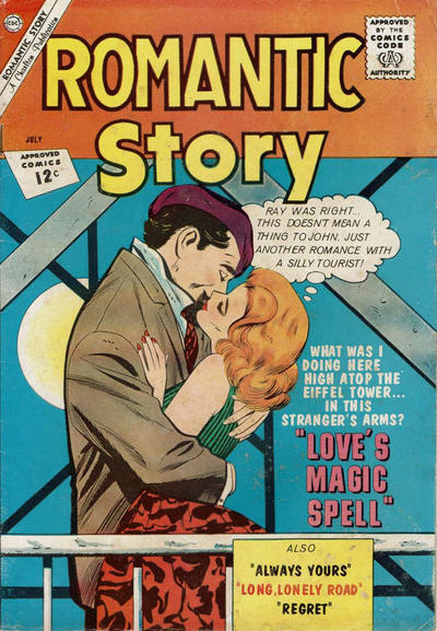 Cover for Romantic Story (Charlton, 1954 series) #61 [British]